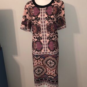 Gibson*Latimer • Beautiful Print Dress